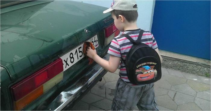И если к вам на парковке подойдёт похожий мальчишка, вспомните данную историю...