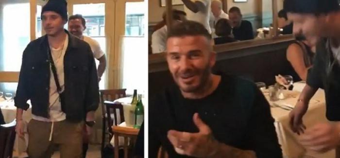 Дэвид Бэкхем не смог сдержать слез, получив от сына грандиозный сюрприз к дню рождения! (Видео)