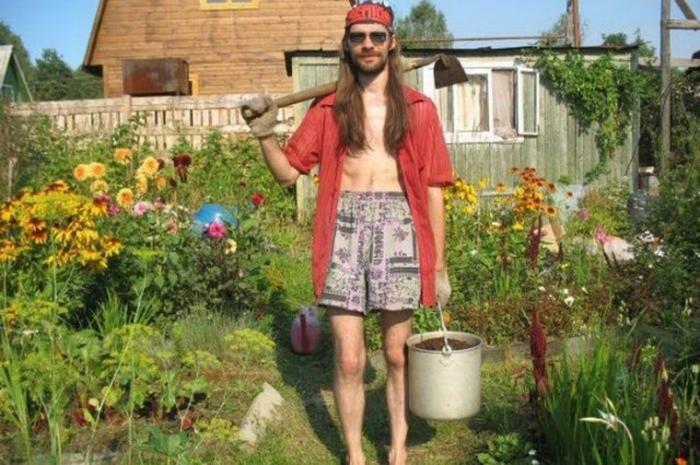 Прикольные картинки мужики в огороде, новый год
