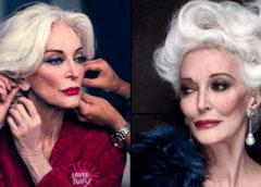 90-летняя популярная модель показала свои фотографии в молодости